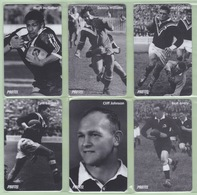 New Zealand - Protel Ltd - Prepaid (Inactive) - 199? Legends Of League II Set (6) - Mint - Neuseeland