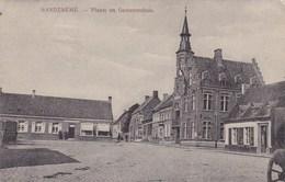 Handzame, Handzaeme, Plaats En Gemeentehuis (pk60370) - Kortemark