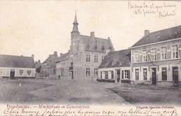Handzame, Handzaeme, Marktplaats En Gemeentehuis (pk60371) - Kortemark
