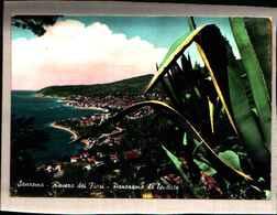 1115) CARTOLINA DI SANREMO-PANORAMA DA LEVANTE-VIAGGIATA - Italia