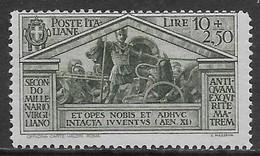 Italia Italy 1930 Regno Virgilio L10+L2.50 Sa N.290 Nuovo MH * - Nuovi
