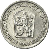 Monnaie, Tchécoslovaquie, 10 Haleru, 1963, TTB, Aluminium, KM:49.1 - Tschechische Rep.