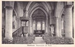 Handzame, Handzaeme, Binnenzicht Der Kerk (pk60393) - Kortemark