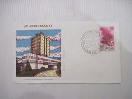 ENVELOPPE 25è ANNIVERSAIRE  EXPOSITION  PHILATELIQUE 92 LA GARENNE COLOMBES  Octobre 1973 TBE - Postmark Collection (Covers)
