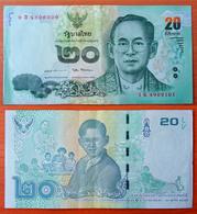 Thailand 20 Baht 2017 Commemorative XF/aUNC - Thailand