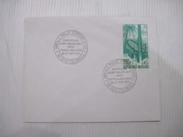 ENVELOPPE  EXPOSITION  AERO PHILATELIQUE 92 LA GARENNE COLOMBES   1970 TBE - Storia Postale