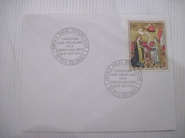 ENVELOPPE  EXPOSITION  AERO PHILATELIQUE 92 LA GARENNE COLOMBES   1970 TBE - Postmark Collection (Covers)