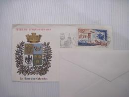 ENVELOPPE  FETE DU CINQUANTENAIRE 92 LA GARENNE COLOMBES   1976 TBE - Storia Postale