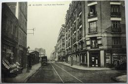 LA RUE DES ROSIERS - SAINT OUEN - Saint Ouen