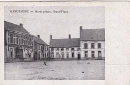 Handzame, Handzaeme, Mark Plaats, Grand Place (pk60409) - Kortemark