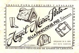 Espana      Recibos  De 1951  Salamanca-Gerona-Figueiras+Puebla De Sanabria +Fregenal De La Sierra - España