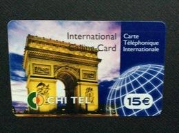 CARTE PRÉPAYÉE ETHNIQUE ASIE CHI TEL *15€  Internationale - France