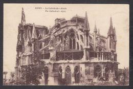 94935/ 1914-18, Reims, La Cathédrale, L'Abside - Oorlog 1914-18