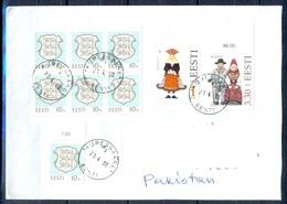 K799- Postal Used Cover. Posted  From Eesti Estonia To Pakistan. - Estonia