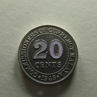 Malaya 20 Cents 1948 - Malaysia