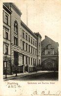 MAGDEBURG REICHSBANK UND GUERICKE GIEBEL - Magdeburg