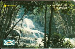 MALAYSIA(GPT) - KaNching Falls/Selangor(RM50), CN : 34MSAD(normal 0), Tirage 10000, Used - Malaysia