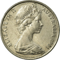 Monnaie, Australie, Elizabeth II, 5 Cents, Undated (1981), TTB, Copper-nickel - Monnaie Décimale (1966-...)