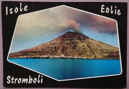 ISOLA DI STROMBOLI - Eolie - Panorama - Vulcano  - Vg S2 - Italy