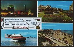 Southsea  -  South Parade Pier  -  Mehrbild-Ansichtskarte Ca. 1975    (10759) - Portsmouth