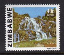 ZIMBABWE - 1983 BUNDI FALLS 40c ADDITIONAL DEFINITIVE STAMP FINE MNH ** SG 588a - Zimbabwe (1980-...)