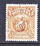 Bolivia 177   Perf  13 1/2    (o)   1927 Issue - Bolivia
