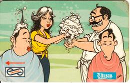 MALAYSIA(GPT) - Utusan Cartoons/Recycling, CN : 39MSAA/C(0 With Barred), Used - Malaysia