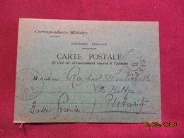 Carte De 1914 à Destination De Ustaritz (cachet) - Cartes De Franchise Militaire