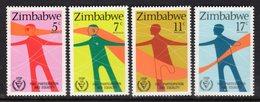 ZIMBABWE - 1981 INTERNATIONAL YEAR OF DISABLED SET (4V) FINE MNH ** SG 602-605 - Zimbabwe (1980-...)