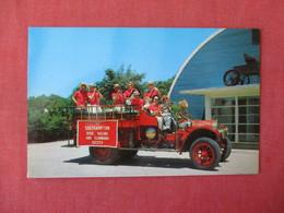 1911 Pope Hartford Chemical & Hose Wagon Used By Southampton  L.i.  NY   Dixie Racing & Clambake Society    Ref 3342 - Firemen