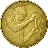 Monnaie, West African States, 25 Francs, 1997, TTB, Aluminum-Bronze, KM:9 - Côte-d'Ivoire