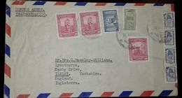 O) 1952 CIRCA - COLOMBIA, TRANSOCEANICO, PRE COLUMBIAN - ARCHEOLOGY, EZEQUIEL URICOECHEA 1c, PALACIO DE COMUNICACIONES, - Colombia