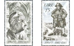 Ref. 164445 * MNH * - IRELAND. 1967. 300th BIRTH ANNIVERSARY OF JOHNATHAN SWIFT . 300 ANIVERSARIO DEL NACIMIENTO DE JONA - 1949-... Republic Of Ireland