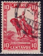 Peru, 1934, Pizarro, 10c, Scott# 319, Used - Peru