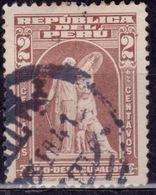 "Peru, 1938, Postal Tax, ""Protection"" By John Ward, 2c, Sc# RA29, Used - Peru"