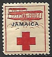 Jamaica  1918?   Red Cross  MH   2016 Scott Value $??? - Jamaica (...-1961)