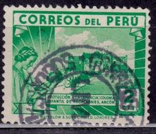Peru, 1938, Children's Holiday Center, 2c, Sc#375, Used - Peru