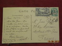 Carte De 1921 Du Maroc à Destination De Montreuil Sous Bois - Maroc (1891-1956)