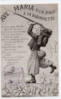 (Guerre 1914-18) 212, Edition Patriotique Lapina, Ave Maria D'un Poilu A Sa Baïonnette, Zouave - Guerre 1914-18