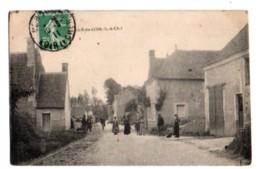 (41) 3114, Mazangé Le Gué Du Loir, Rails Du Tramway - Altri Comuni