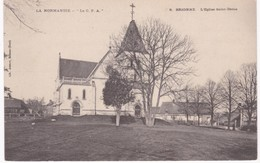 27 Eure -  BRIONNE - L'Eglise Saint-Denis - France
