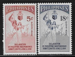 Philippines 1954 56th Anniversary Of Declaration Of First Independence MNH - Philippines