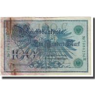 Billet, Allemagne, 100 Mark, 1908, 1908-02-07, KM:34, TB - [ 2] 1871-1918 : German Empire