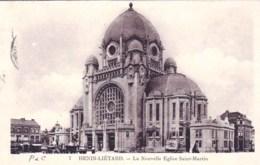 62 - Pas De Calais - HENIN LIETARD -   La Nouvelle Eglise Saint Martin - Other Municipalities
