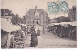 27 Eure -  PACY-sur-EURE -  Le Marché - 1905 - Pacy-sur-Eure
