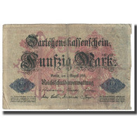 Billet, Allemagne, 50 Mark, 1914, 1914-08-05, KM:49b, TB - [ 2] 1871-1918 : Duitse Rijk