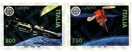 Ref. 65904 * MNH * - ITALY. 1991. EUROPA CEPT. TELECOMMUNICATIONS . EUROPA CEPT. TELECOMUNICACIONES - Espacio