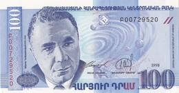 Arménie - Billet De 100 Drams - 1998 - Neuf - Armenia