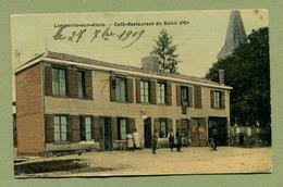 """LONGEVILLE-SUR-AISNE  (52) : """" Café-Restaurant Du SOLEIL-D'OR """"  LONGEVILLE-SUR-LA-LAINES - Autres Communes"""