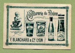 """LYON  (69) : """" CONFITURERIE DU RHÔNE - F. BLANCHARD & Cie """" - Lyon"""